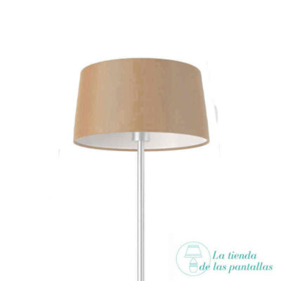 pantalla lampara conica avellana