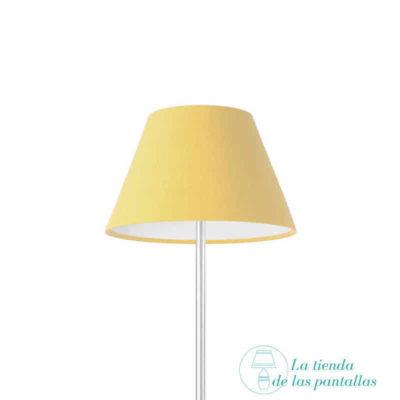 pantalla lampara empire beige