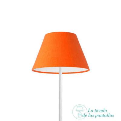 pantalla lampara empire naranja