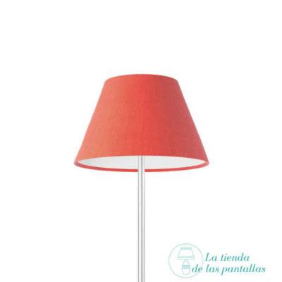 pantalla lampara empire roja