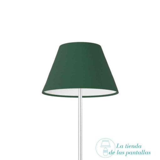 pantalla lampara empire verde oscuro