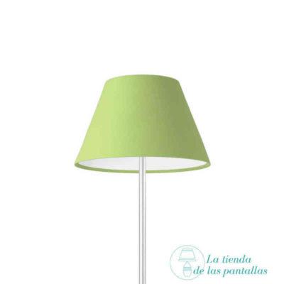 pantalla lampara empire verde pistacho