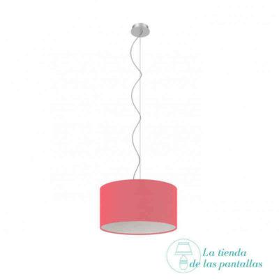 pantalla-lampara-techo-cilindrica-fuctsia