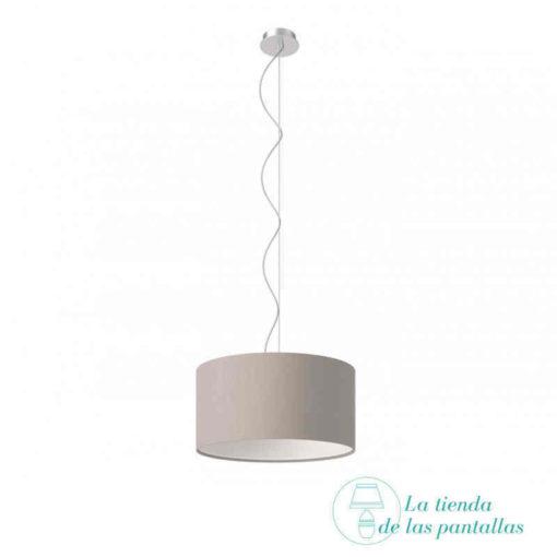 pantalla-lampara-techo-cilindrica-gris