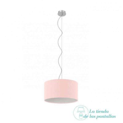 pantalla-lampara-techo-cilindrica-rosa