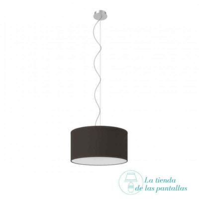 pantalla-lampara-techo-cilindrica-yute-negro