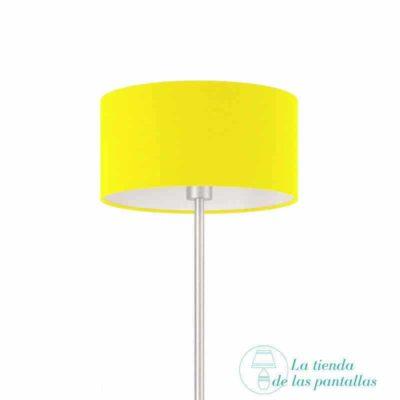 pantalla-para-lamparas-cilindrica-amarilla