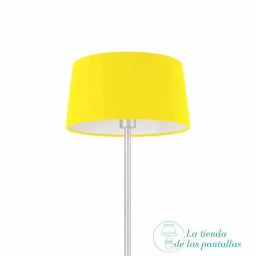 pantalla-para-lamparas-conica-amarilla