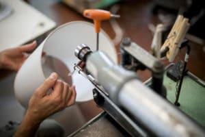 Fabricante de pantallas de lámparas