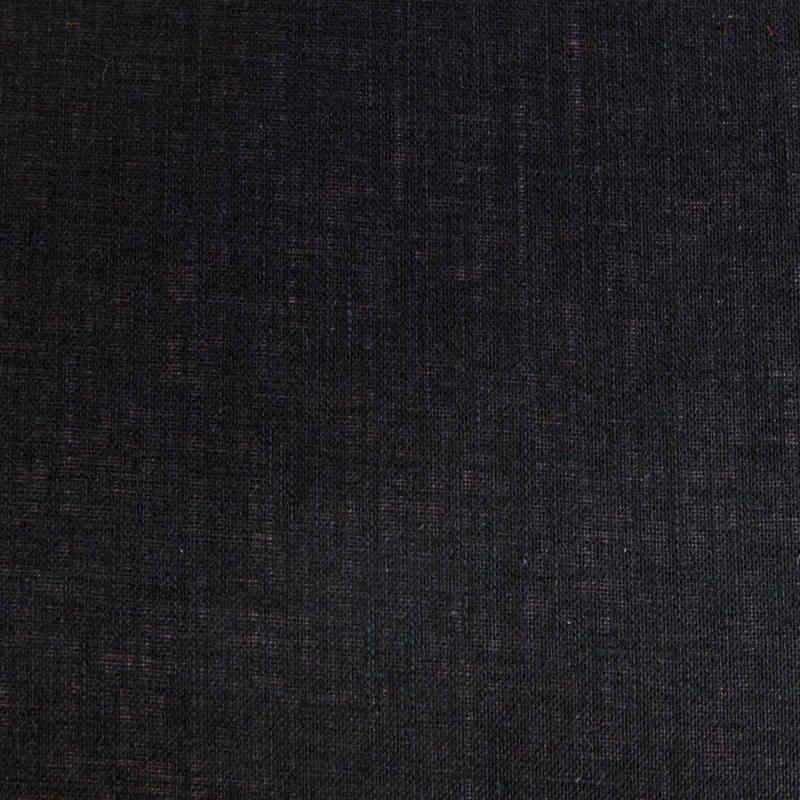 Pantalla para lámparas cilíndrica lino negro