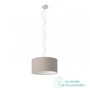 pantalla-lampara-techo-Neutral Gray