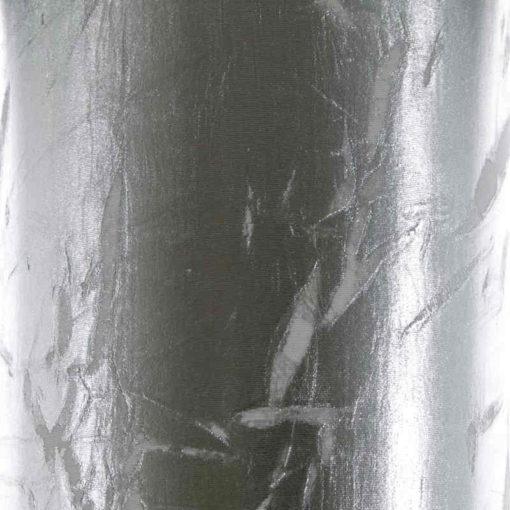 Pantalla para lámparas cilíndrica plata