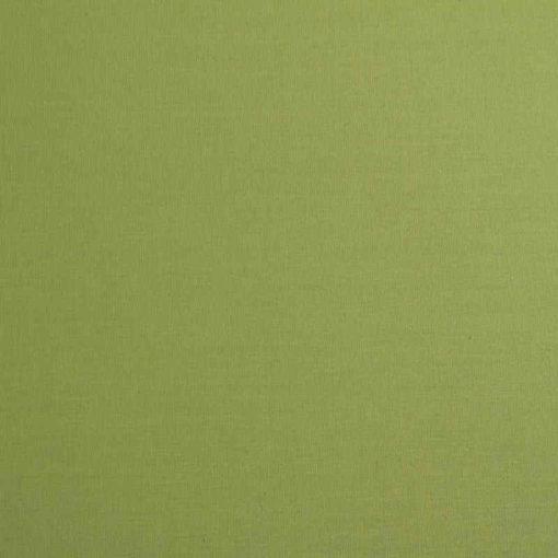 Pantalla para lámpara cónica verde oliva