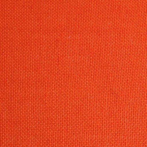 Pantalla para lámpara cónica yute naranja